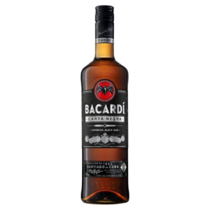 Bacardi Carta Negra 1l 40% - Skvělý rum
