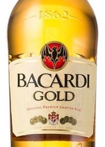 Bacardi Carta Oro 1l 37