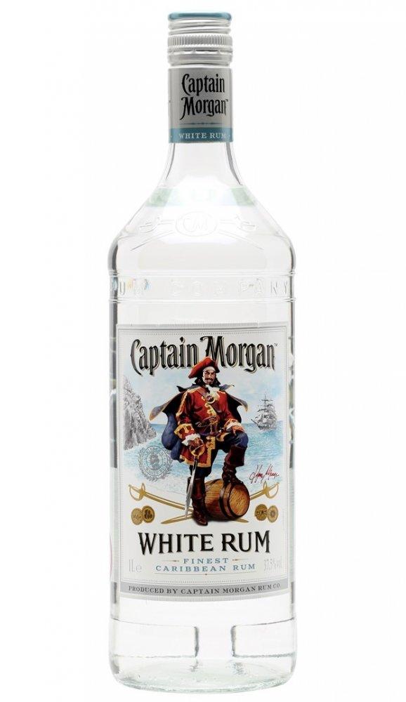 Captain Morgan White 1l 37