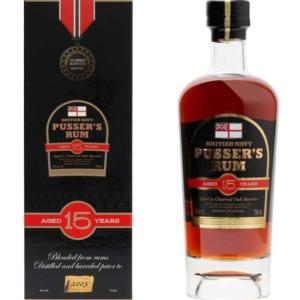 Pusser's British Navy Rum 15y 0