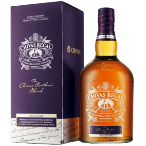 Chivas Regal Brother´s Blend 12y 1l 40% - Dárkové balení alkoholu Chivas Regal