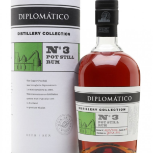 Diplomatico No. 3 Pot Still Rum Distillery Collection 2010 0