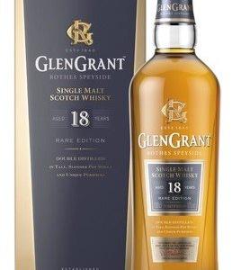 Glen Grant 18y 1l 43% - Dárkové balení alkoholu Glen Grant
